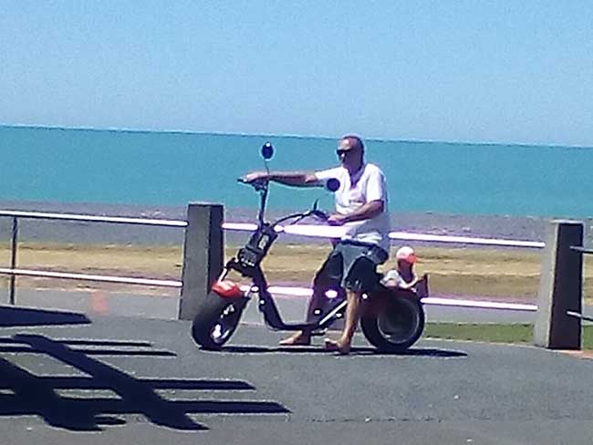 Napier Scooter Hire Hawkes Bay