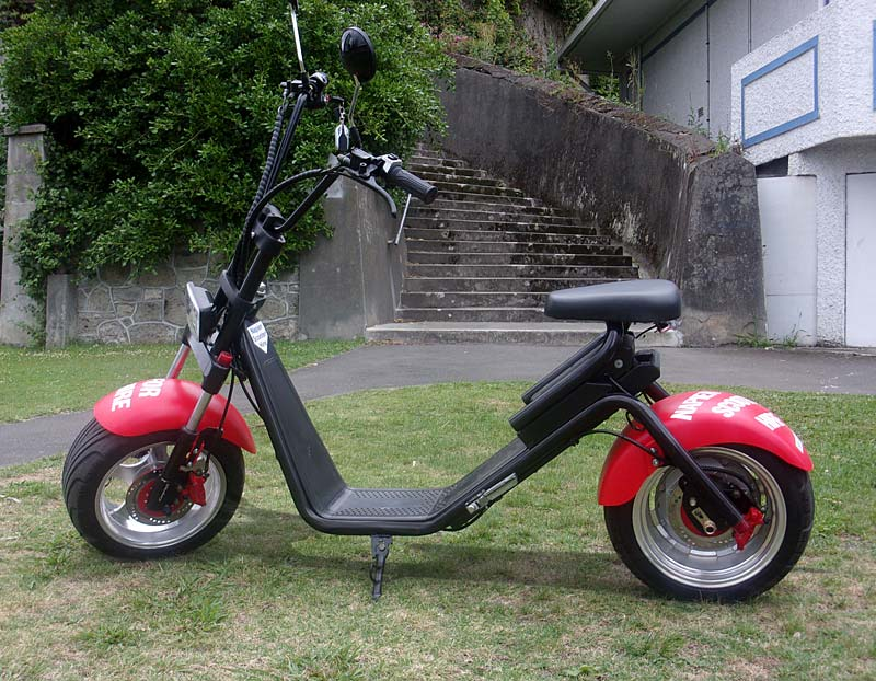 Napier Scoter Hire Fat Boy Harley Scooters