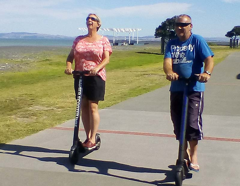 Have fun with Napier Scooter Hire